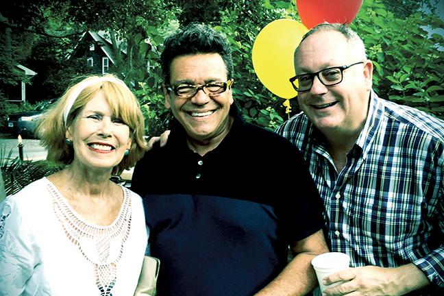 Mary Lou Sheehan with Rich Barnett