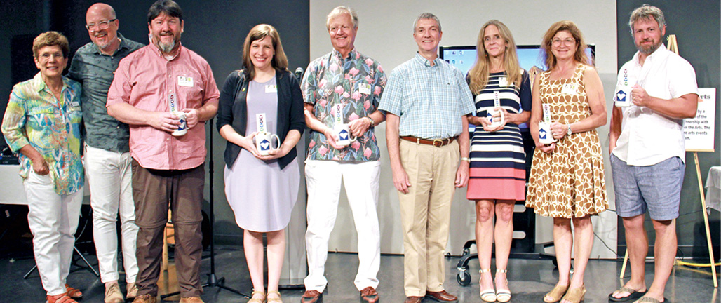 DDOA Award Winners at CAMP Rehoboth