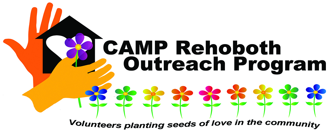 CAMP Rehoboth Outreach Program Logo