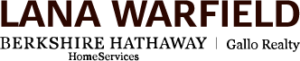 Lana Warfield - Berkshire Hathaway HomeServices - Gallo Realty Logo