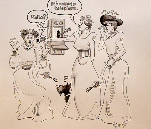 Cartoon by Kathleen Fitzgerald