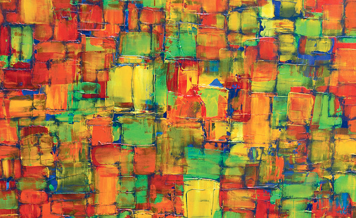 Detail from Transitions by Ward Ellinger to be Auctioned at Sundance