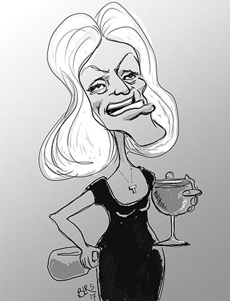 Kellyanne Cartoon by Bill LaRoque