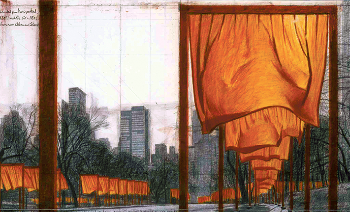 Christo: The Gates (Project for Central Park, New York City)