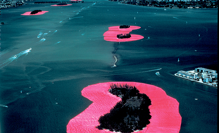 Christo and Jeanne-Claude: Surrounded Islands, Biscayne Bay, Greater Miami