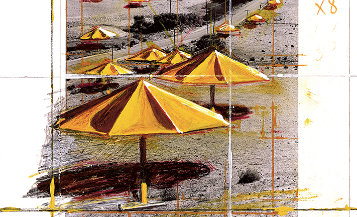 Christo: The Umbrellas, Joint Project for Japan and USA