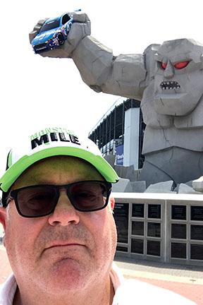 Rich Barnett at Dover International Speedway
