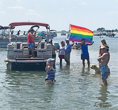 Rainbow Raft Up