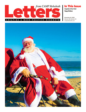 November 16, 2018 - Cover of Letters from CAMP Rehoboth