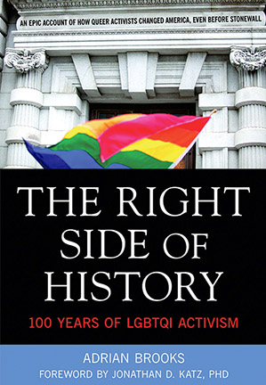 Cover of The Right Side of History by Adrian Brooks