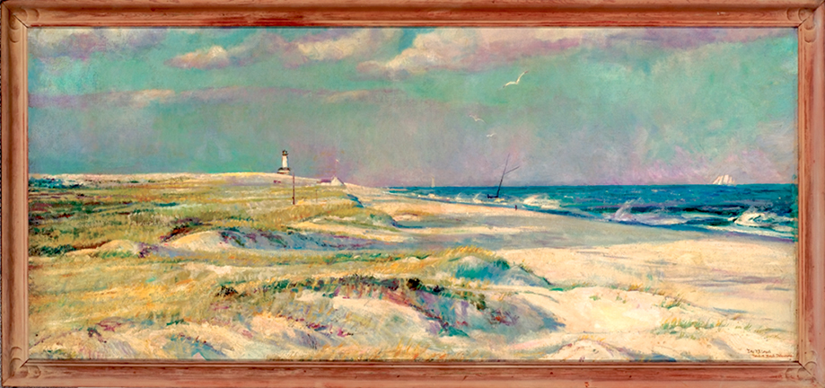 Cape Henlopen Lighthouse, Far View, Ethel Pennewill Brown Leach