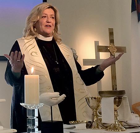 MCC Rehoboth Pastor Rev. Elder Diane Fisher