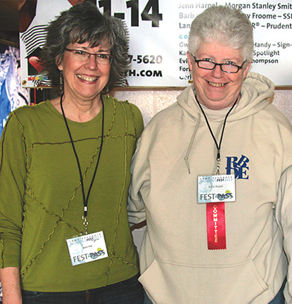 Beth Pile and Barb Ralph - Women's FEST 2013