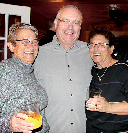 Bonnie Quesenberry, Steve Elkins, and Fay Jacobs