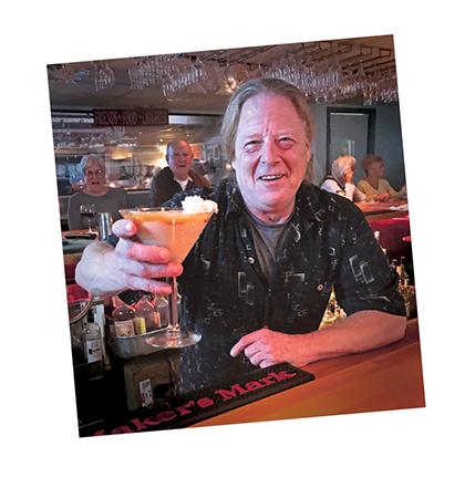 Bartender Bob Norton