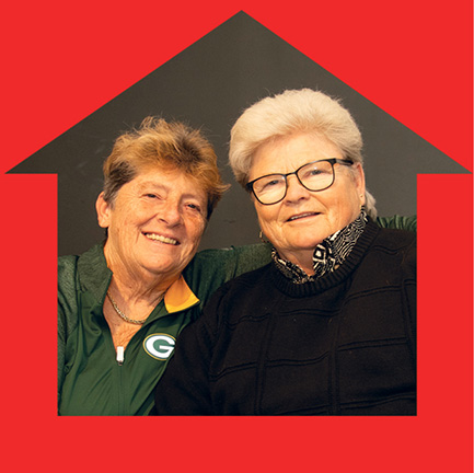 Volunteer Spotlight - Diane and Dottie