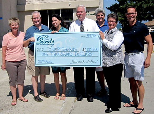 CAMP Rehoboth 25th Anniversary Sponsor Atlantic Sands Hotel and Conference Center