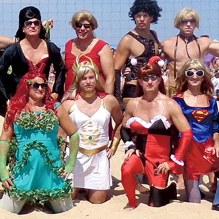 Rehoboth Beach Drag Volleyball 2014