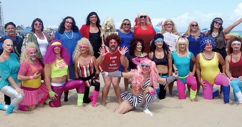 Drag Volleyball 2018