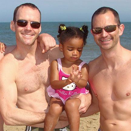 David Salie, Tallulah Bromley-Salie, Mark Bromley