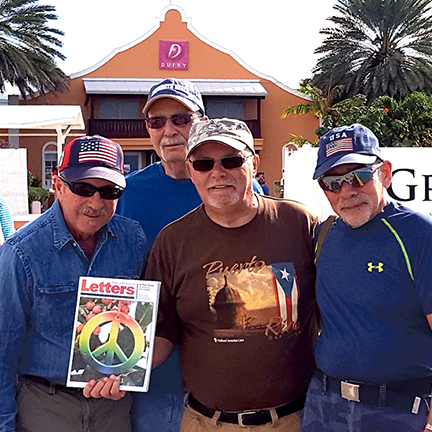 Rich Snell, Jim Dilalla, Fred Episcopo, and Steve Janosik in Grand Turks
