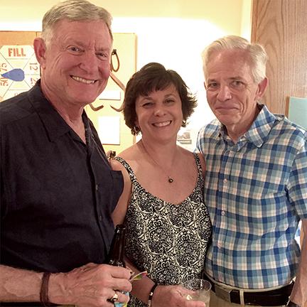 Rick and Annette Stellhorn and Rehoboth Beach City Commissioner Patrick Gossett