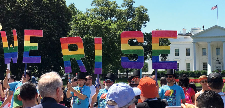 Equality March for Unity and Pride 2017