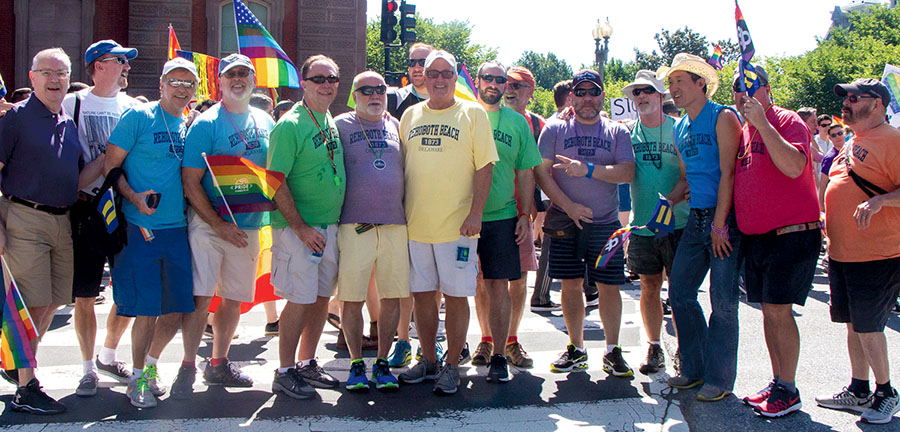 Equality March for Unity and Pride 2017 - Rehoboth Beach Team