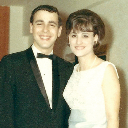 Fay Jacobs and Prom Date