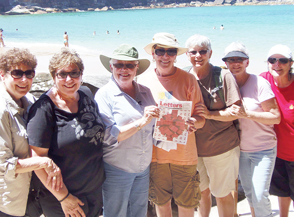 Letters from CAMP Rehoboth in Australia