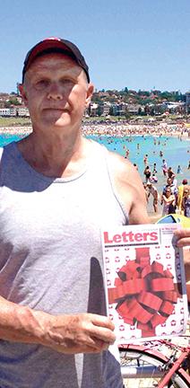 Letters from CAMP Rehoboth in on Bondi Beach, Australia