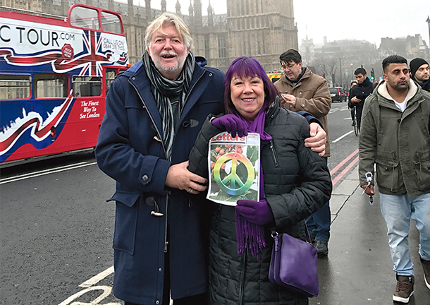 Russell and Patricia Stiles in London