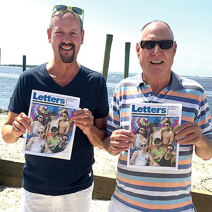 Letters in North Carolina - David Hagelin, Andy Brangenberg