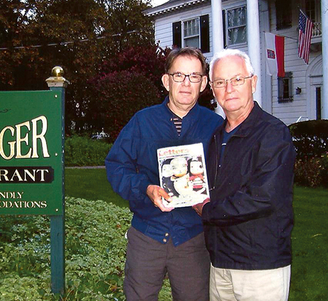 Bill Braff and Jeff Shook in New York