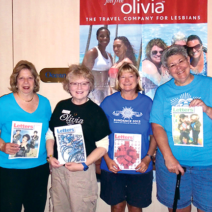 Letters from CAMP Rehoboth on an Olivia Cruise