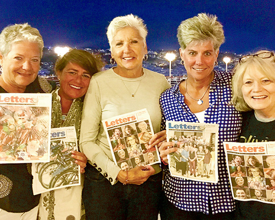 Linda Kemp, Kay Sullivan, Alexandra Foss Armijo, Doreen Hartley, Diane Cooke