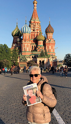 Diane Lusk Travels with Letters