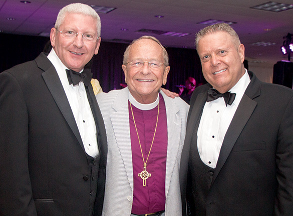Randy Haney, Bishop Gene Robinson, Tim Ragan
