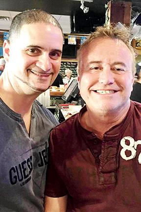 Newlyweds Frank Mack and Mike McHugh