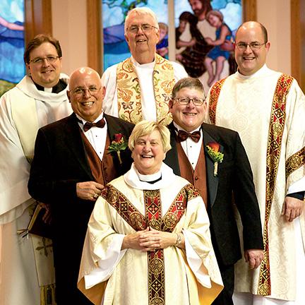 Russ Koerwer and Steve Schreiber Wedding
