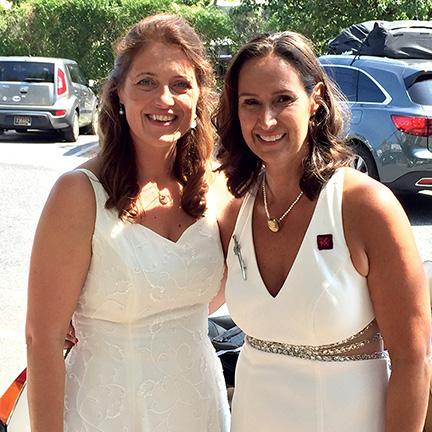 Laura Cort and Christina Richte