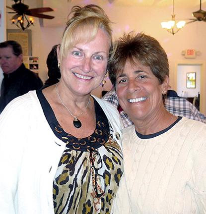 Donna Ohle and Sue Gaggiotti
