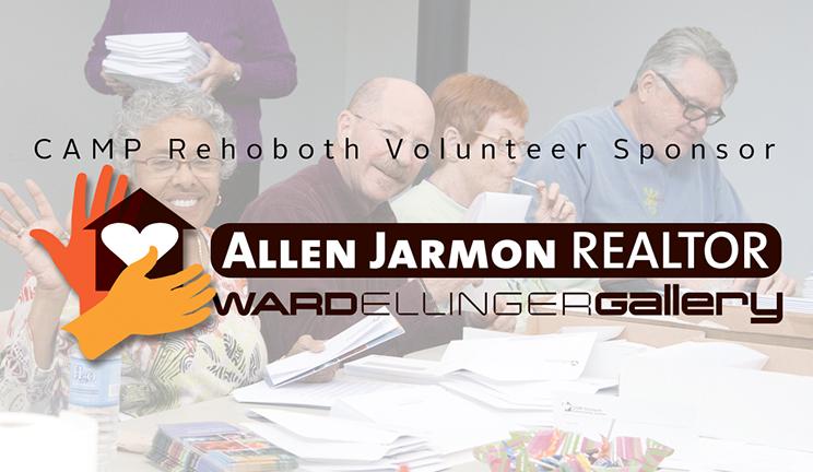 CAMP Rehoboth Volunteer Sponsor - Allen Jarmon REALTOR