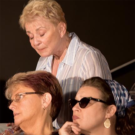 Kay Cummings, Lauren Leone Baker, Gwen Osborne