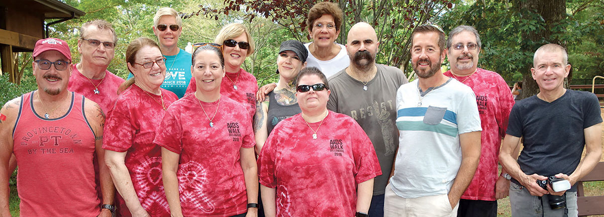 2018 AIDSwalk Team