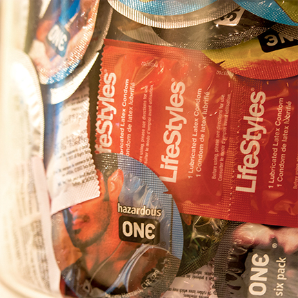 AIDS Outreach at CAMP Rehoboth - Free Condoms