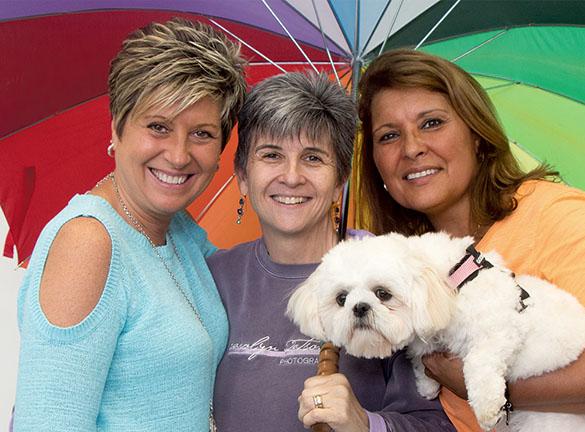 Joann Glussich, Carolyn Watson, Suzanne Krupa