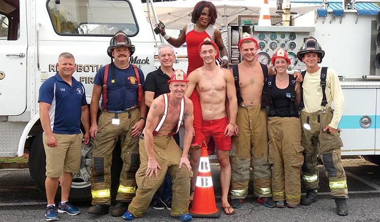 Rehoboth Beach Volunteer Fire Company at Aqua Grill