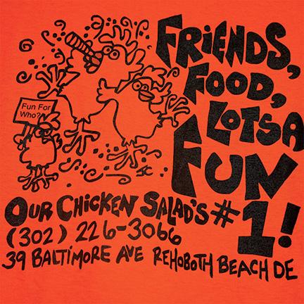 Lori's Cafe - Chicken Salad T-Shirt