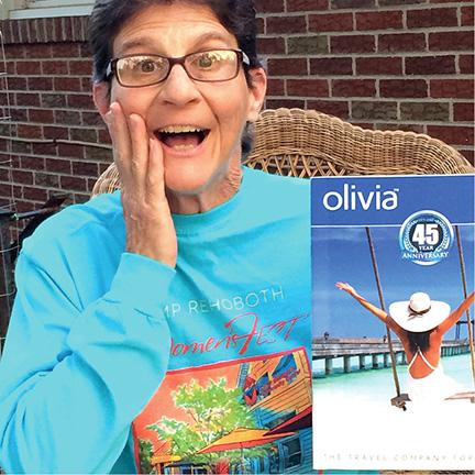 Olivia Raffle Winner Terri King